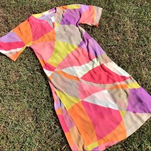 "Authentic Trina Turk Chiffon ""Pucci- esque"" Caftan"